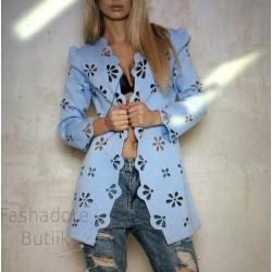 Jersey kangast jakk