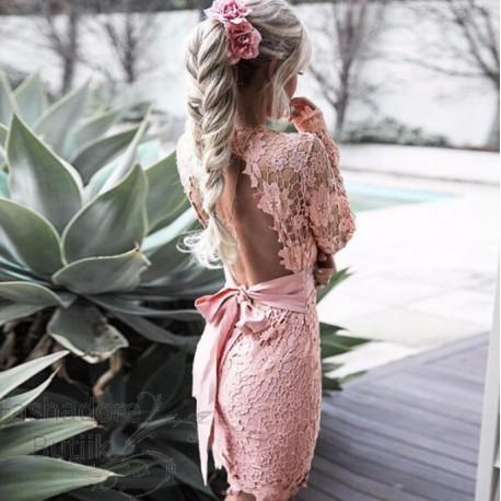 Lipsuga pitsiline kleit