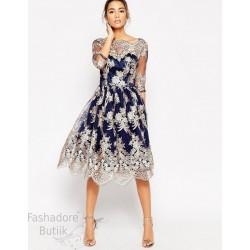 Pitsiline skater kleit