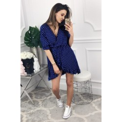 f6410866cf2 Volangidega täpiline kleit